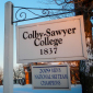 Photo of a Colby-Sawyer College sign